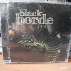 CDs de Música: CD - BLACK HORDE - COLD BLOOD - PRECINTADO SANTO GRIAL ASTURIAS PEPETO. Lote 118336559