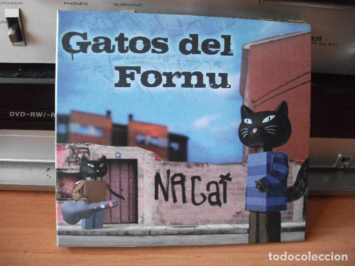 GATOS DEL FORNU NAGAT CD ALBUM ASTURIAS 2008 COMO NUEVO¡¡ (Música - CD's Country y Folk)