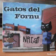 CDs de Música: GATOS DEL FORNU NAGAT CD ALBUM ASTURIAS 2008 COMO NUEVO¡¡. Lote 118337247