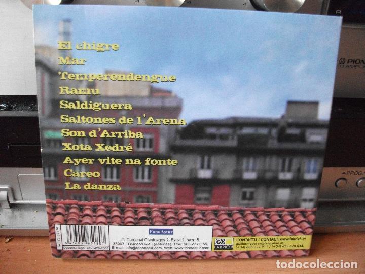 CDs de Música: GATOS DEL FORNU NAGAT CD ALBUM ASTURIAS 2008 COMO NUEVO¡¡ - Foto 2 - 118337247