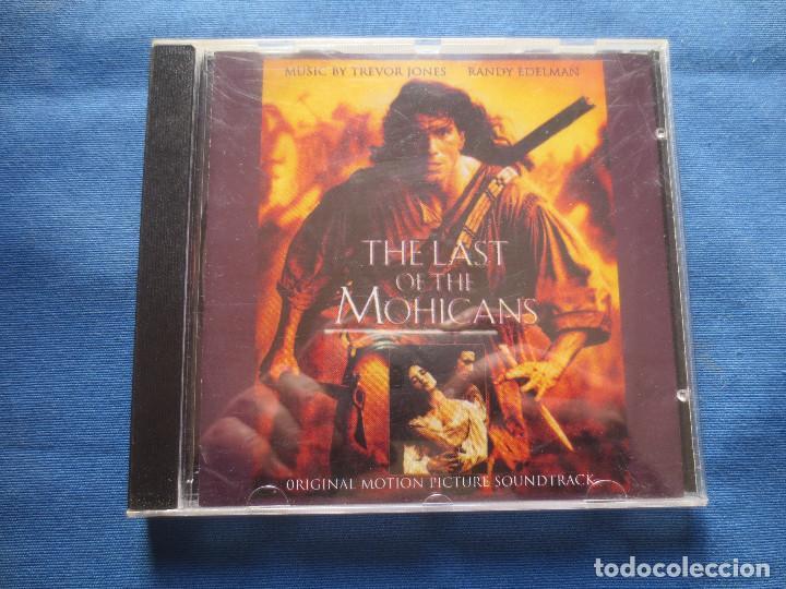BANDA SONORA ORIGINAL - THE LAST OF THE MOHICANS - TREVOR JONES & RANDY EDELMAN - EL ÚLTIMO MOHICANO (Música - CD's Bandas Sonoras)