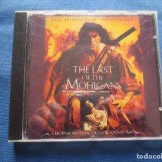 CDs de Música: BANDA SONORA ORIGINAL - THE LAST OF THE MOHICANS - TREVOR JONES & RANDY EDELMAN - EL ÚLTIMO MOHICANO. Lote 118338035