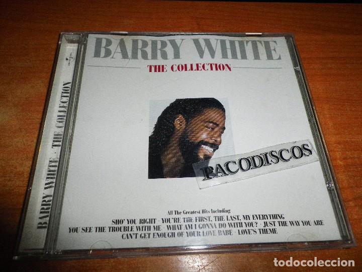 BARRY WHITE THE COLLECTION CD ALBUM DEL AÑO 1999 CONTIENE 16 TEMAS INCLUYE REMIX VERSION MUY RARO (Música - CD's Jazz, Blues, Soul y Gospel)