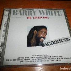 CDs de Música: BARRY WHITE THE COLLECTION CD ALBUM DEL AÑO 1999 CONTIENE 16 TEMAS INCLUYE REMIX VERSION MUY RARO. Lote 118354667