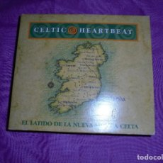 CDs de Música: CELTIC HEARTBEAT. EL LATIDO DE LA NUEVA MUSICA CELTA. 2 CD´S. ATLANTIC, IMPECABLES. Lote 118428939