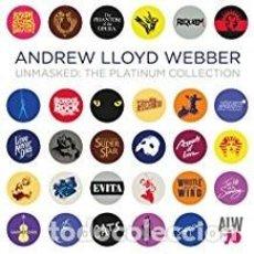 CDs de Música: ANDREW LLOYD WEBBER. UNMASKED: THE PLATINUM COLLECTION. Lote 118436123