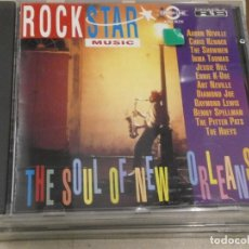 CDs de Música: CD. SOUL OF NEW ORLEANS - ROCK STAR MUSIC. Lote 118436127