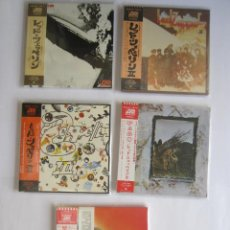 CDs de Música: LED ZEPPELIN - LOTE 5 (I + II + III + IV + HOUSES OF THE HOLY) 2003 JAPAN MINI LP PAPERSLEEVE CD. Lote 118439575