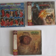 CDs de Música: JAMES BROWN - LOTE 3 (IT'S A MAN'S MAN'S MAN'S WORLD + SLAUGHTER'S BIG RIP + THE PAYBACK) JAPAN CD. Lote 118450239