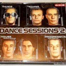 CDs de Música: RECOPILATORIO DANCE SESSIONS 2 / MIKE PLATINAS, PASTIS & BUENRI, DIMAS & MARTÍNEZ, JULIO POSADAS. Lote 118477807