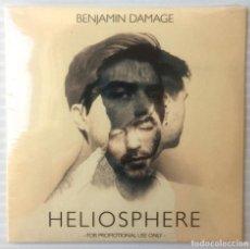 CDs de Música: BENJAMIN DAMAGE. HELIOSPHERE. 50 WEAPONS, 2013. CD PROMOCIONAL PRECINTADO.. Lote 118486655
