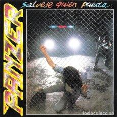 CDs de Música: PANZER – SÁLVESE QUIÉN PUEDA (ED.: ESPAÑA, 2002) [DIFÍCIL]. Lote 118498251