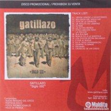 CDs de Música: GATILLAZO LA POLLA RECORDS SIGLO XXI CD PROMOCIONAL DISCO COMPLETO MÁS INFORMACIÓN LA POLLA RECORDS. Lote 118498859
