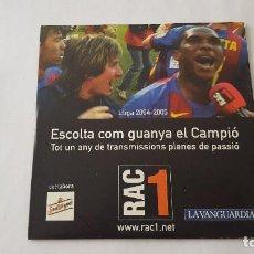CDs de Música: CD - ESCOLTA COM GUANYA EL CAMPIÓ. Lote 118503487