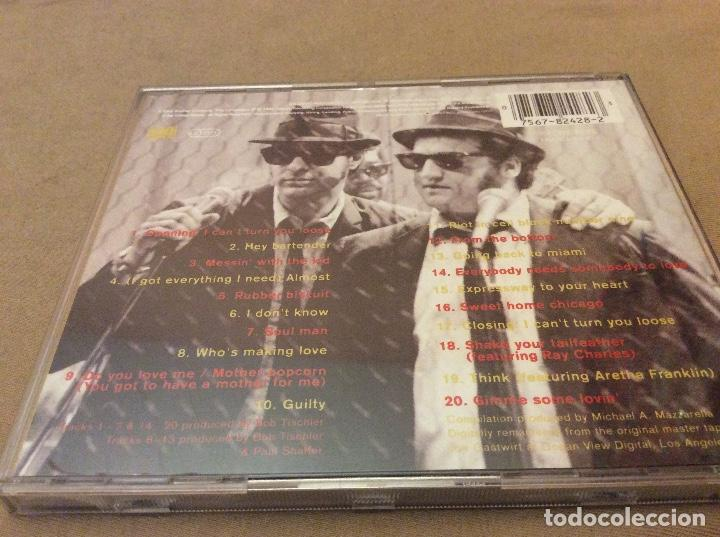 CDs de Música: BLUES BROTHERS - THE DEFINITIVE COLLECTION. 1992. - Foto 2 - 118503559