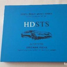 CDs de Música: CD TRIPLE BOX 3 CD'S - HDSTS - ACOUSTIC. Lote 118528243