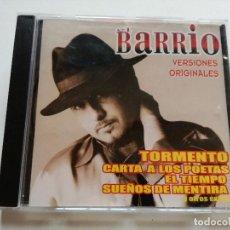 CDs de Música: CD - EL BARRIO - VERSIONES ORIGINALES - 2002. Lote 180398323
