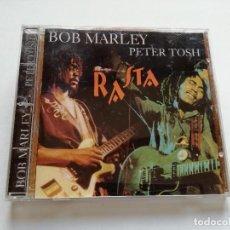 CDs de Música: CD - BOB MARLEY PETER TOSH - RASTA - 2001. Lote 118566695