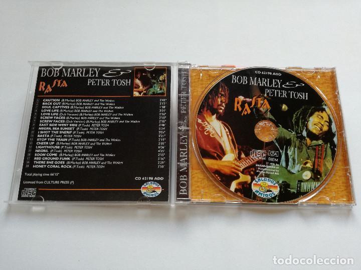 CDs de Música: CD - BOB MARLEY PETER TOSH - RASTA - 2001 - Foto 2 - 118566695