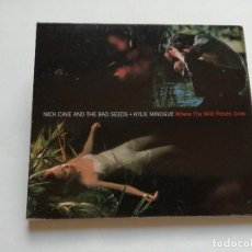 CDs de Música: CD - NICK CAVE AND THE BAD SEEDS + KYLIE MINOGUE - WHERE THE WILD ROSES GROW - 1995. Lote 118567499