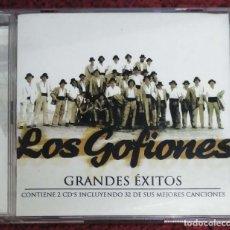 CDs de Música: LOS GOFIONES (GRANDES EXITOS) 2 CD'S 2002 * RARO. Lote 118571939