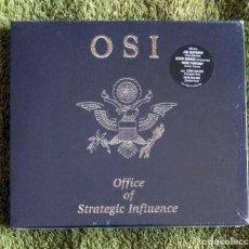 CDs de Música: OSI - OFFICE OF STRATEGIC INFLUENCE CD DOBLE NUEVO Y PRECINTADO - ROCK PROGRESIVO METAL PROGRESIVO. Lote 118580755