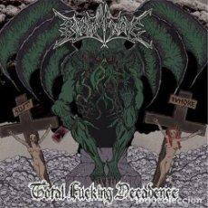 CDs de Música: BEYOND YE GRAVE - TOTAL FUCKING DECADENCE -BLACK METAL. Lote 118584663