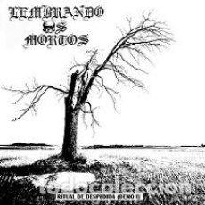 CDs de Música: LEMBRANDO OS MORTOS - RITUAL DE DESPEDIDA -BLACK METAL. Lote 118585931
