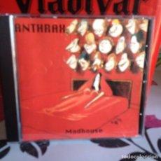 CDs de Música: ANTHRAX - MADHOUSE LIVE LONDON 1987. RARISIMO ALBUM CD UNOFFICIAL 1ª ED. MADE IN EEC 1991. NM - NM. Lote 118586139