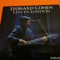 CDs de Música: LEONARD COHEN-LIVE IN LONDON 2CD 2009. Lote 118589999