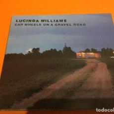CDs de Música: LUCINDA WILLIAMS-CAR WHEELS (DELUXE EDITION) 2CD. Lote 118590483