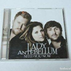 CDs de Música: LADY ANTEBELLUM - NEED YOU NOW CD. Lote 118616279