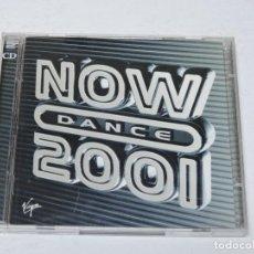CDs de Música: NOW DANCE 2001 CD X2. Lote 118623651