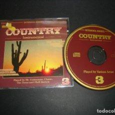 CDs de Música: COUNTRY INSTRUMENTAL VOL.3 CD. Lote 118651375