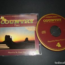 CDs de Música: COUNTRY PIANO PLAYED BY MR.PIANO MAN VOL.4 CD . Lote 118651467