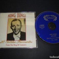 CDs de Música: BING CROSBY - KING BING CD . Lote 118652235