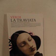 CDs de Música: LA TRAVIATA VERDI 80 PAGINAS LIBRETO DE FRANCESCO MARIA PIAVE EL PAIS NCLUYE 2 CDS AÑO 2007 . Lote 118676791