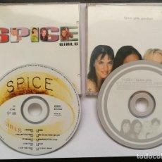 CDs de Música: SPICE GIRLS - SPICE CD ALBUM + GOODBYE SINGLE 3 TRACKS. Lote 118681783
