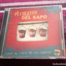 CDs de Música: EL CORAZÓN DEL SAPO FUEGO AL CIELO DE LOS CUERVOS - CD HARDCORE PUNK ZARAGOZA. Lote 118686703
