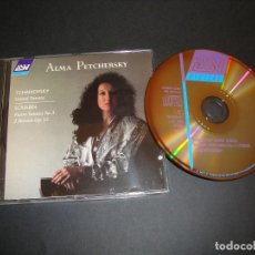 CDs de Música: TCHAIKOVSKY- SCRIABIN: GRAND SONATA, PIANO SONATA Nº 3 CD. Lote 118712235