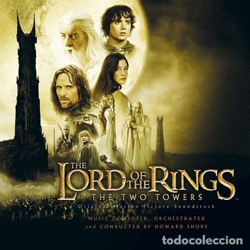 THE LORD OF THE RINGS: THE TWO TOWERS / HOWARD SHORE CD BSO (Música - CD's Bandas Sonoras)