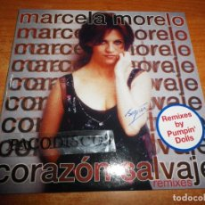 CDs de Música: MARCELA MORELO CORAZON SALVAJE REMIXES PUMPIN´ DOLLS CD SINGLE CARTON 1998 2 TEMAS. Lote 73588814