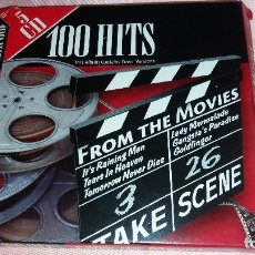 CDs de Música: 100 HITS FROM THE MOVIES-5 CD`S-VER FOTOS. Lote 118737251