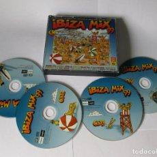 CDs de Música: IBIZA MIX 99 - 4 CD 58 TEMAS - POP DANCE / EUROTRANCE / HOUSE & GARAGE / LATINO - BLANCO Y NEGRO. Lote 118779407