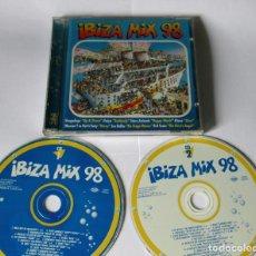 CDs de Música: IBIZA MIX 98 - 2 CD 34 TEMAS - MAX MUSIC 1998 EU STAR ANIMALS LOS BELLOS DIANA GAIYA DOMINGO KOKO . Lote 118780255