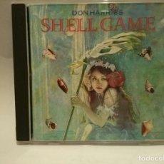 CDs de Música: DON HARRISS - SHELL GAME. Lote 118888967
