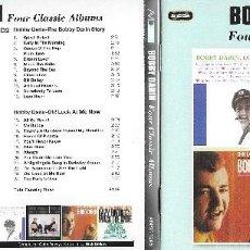 CDs de Música: BOBBY DARIN - FOUR CLASSIC ALBUMS EN 2 CD. Lote 118893847