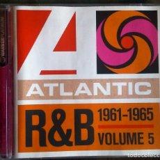 CDs de Música: VARIOS - ATLANTIC R&B 1947-1974 - VOLUME 5: 1961-1965 CD FUNK,SOUL, RHYTHM & BLUES. Lote 118916299