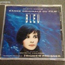 CDs de Música: BLEU. AZUL LA PELÍCULA DE KIESLOWSKI. MÚSICA DE ZBIGNIEW PREISNER. Lote 118924939