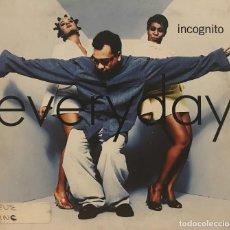 CDs de Música: INCOGNITO / EVERYDAY (CD SINGLE 1995) RF-599. Lote 118926035